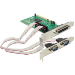 DeLOCK 1x Parallel & 2x Serial - PCI card interface cards/adapter