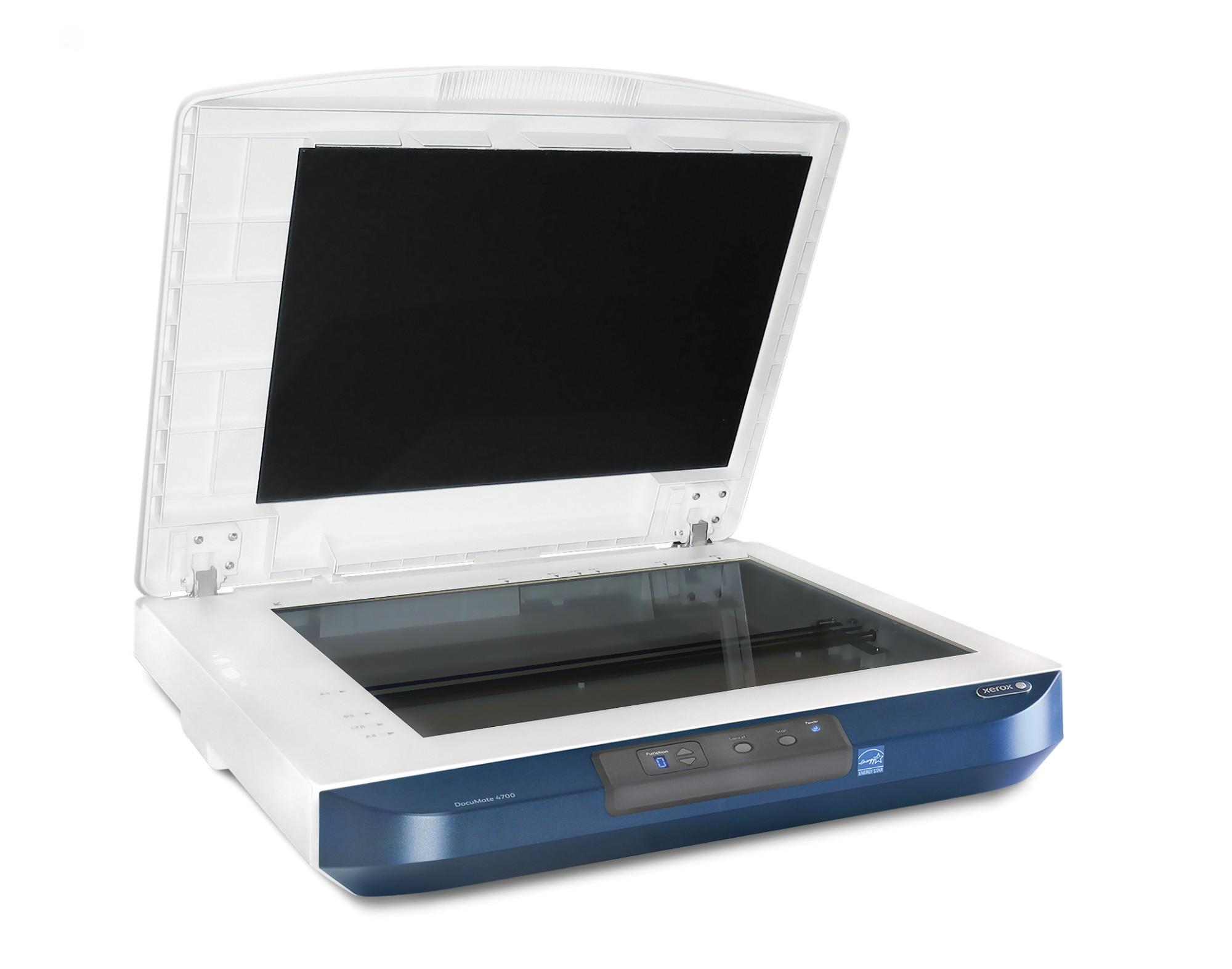 Xerox DocuMate 4700 Flatbed scanner 600 x 600DPI A3 Blue,White