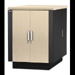 APC NetShelter CX 18U Geluiddempende en geventileerde 'Server Room in a Box'