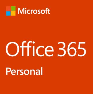 Microsoft Office 365 Personal 1 year(s) English