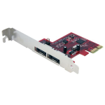 StarTech.com 2 Port SATA 6 Gbps PCI Express eSATA Controller Card interface cards/adapter