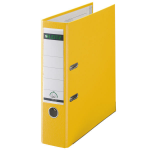 Leitz 180° Plastic Lever Arch File A4 Yellow
