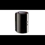 D-Link AC1200 Network transmitter Black 10, 100, 1000 Mbit/s