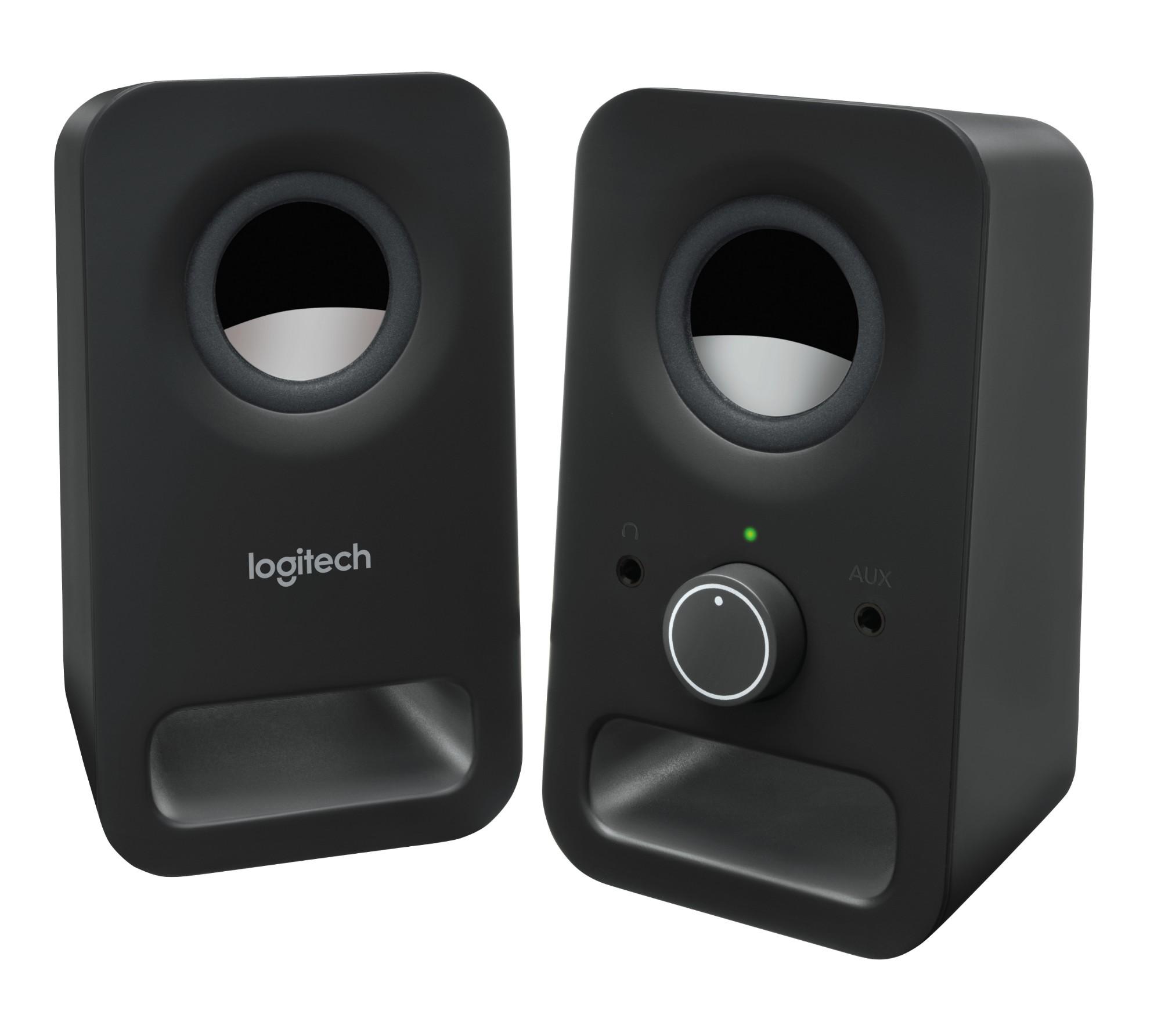 Logitech Z150 3W Black loudspeaker