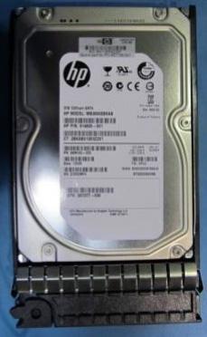 Hewlett Packard Enterprise 628180-001 3000GB Serial ATA II hard disk drive
