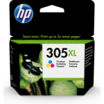 HP 3YM63AE (305XL) Printhead cartridge color, 200 pages