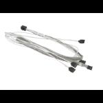 Supermicro MiniSAS HD / 4 SATA 0.75 m Grey, White