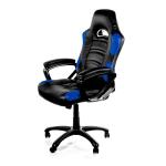 Arozzi Black & Blue Enzo Adjustable Ergonomic Motorsports Inspired Desk Chair