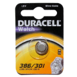 Duracell D386 Silver-Oxide (S) 1.5V non-rechargeable battery