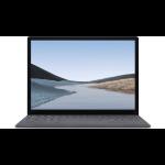 "Microsoft Surface Laptop 3 Platina Notebook 34,3 cm (13.5"") 2256 x 1504 Pixels Touchscreen Intel® 10e generatie Core™ i5 8 GB LPDDR4x-SDRAM 128 GB SSD Windows 10 Pro"