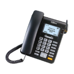 MaxCom MM28D telephone DECT telephone Black