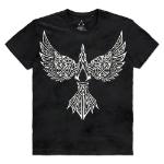ASSASSIN'S CREED Valhalla Raven T-Shirt, Male, Large, Black (TS610717ASC-L)