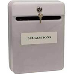 Helix POST SUGGESTION BOX GREY W81065