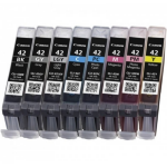 Canon 6384B010 (CLI-42) Ink cartridge multi pack, 8x13ml, Pack qty 8