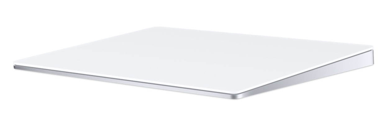 Apple Magic Trackpad 2 almohadilla táctil Inalámbrico Plata, Blanco