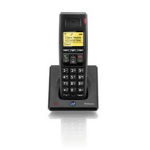 British Telecom BT Diverse 7100 Plus AHC DECT telephone Caller ID Black