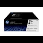 HP 85A Origineel Zwart Multipack 2 stuk(s)