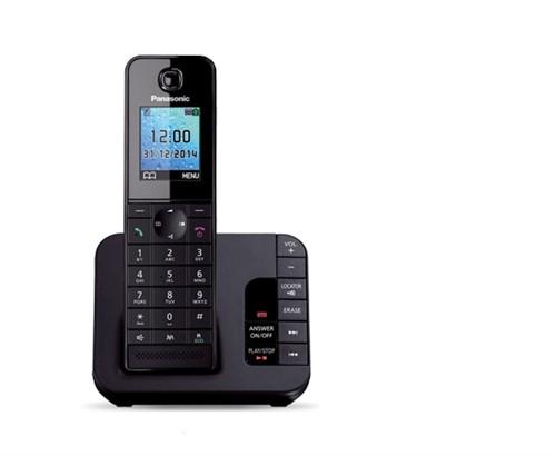 Panasonic KX-TGH220E DECT telephone Black Caller ID