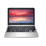 "ASUS Chromebook C201PA-FD0008 RK3288C 11.6"" 1366 x 768pixels Navy,Silver Chromebook"