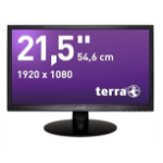 "Wortmann AG Terra 2212W DVI Greenline Plus 21.5"" Full HD LED Black computer monitor"