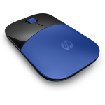 HP Z3700 mice RF Wireless Optical 1200 DPI Ambidextrous Blue