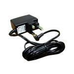 StarTech.com SV231USB & SV431USB British Power Adapter DC5V Black