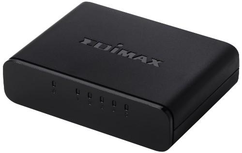 Edimax ES-3305P network switch Unmanaged Black