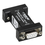 Black Box IC1474A-F RS-232 RS-422 Black serial converter/repeater/isolator
