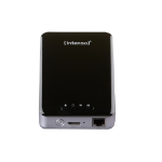 Intenso Memory 2 Move Pro Wi-Fi 1000GB Black external hard drive