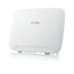 Zyxel LTE3316-M604 draadloze router Dual-band (2.4 GHz / 5 GHz) Gigabit Ethernet 3G 4G Wit