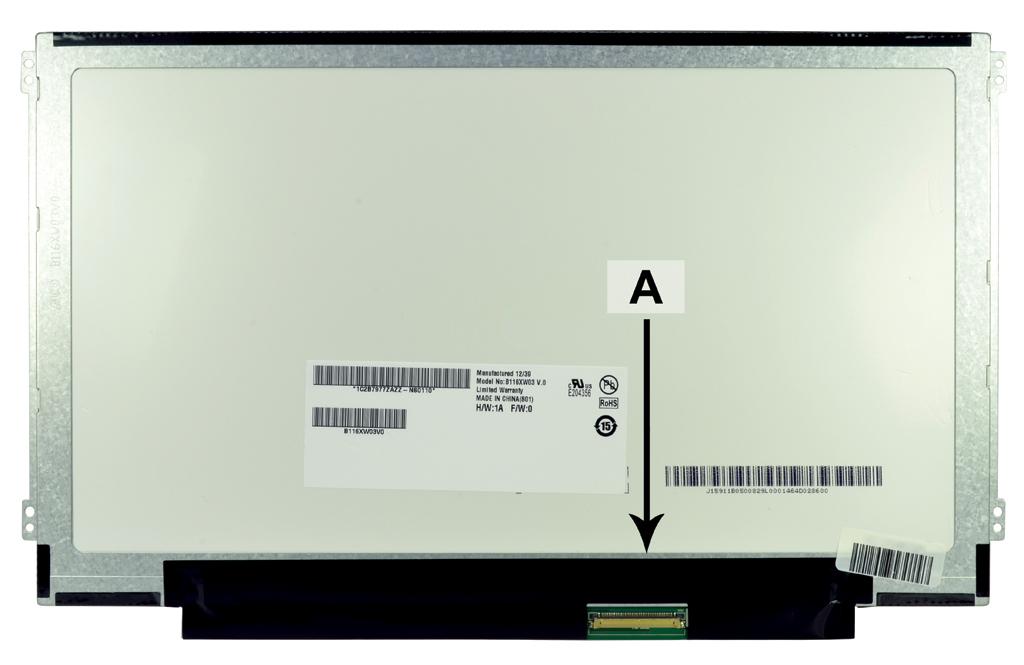 2-Power 11.6 WXGA HD 1366x768 LED Glossy Screen - replaces B116XW03V.1