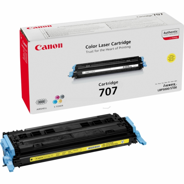 Toner Cartridge 707 Standard Capacity 2k Pages Yellow