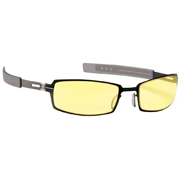 Gunnar Optiks PPK Amber Gloss Onyx Indoor Digital Eyewear