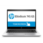 "HP EliteBook 745 G5 Silver Notebook 35.6 cm (14"") 1920 x 1080 pixels Touchscreen AMD Ryzen 7 2700U 8 GB DDR4-SDRAM 256 GB SSD"