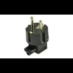 2-Power ALT0360A electrical power plug Black