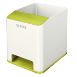 Leitz WOW Polystyrene Green,Metallic pen/pencil holder