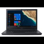 """Acer TravelMate P2 P2410-G2-M-55XM Black Notebook 35.6 cm (14"""") 1920 x 1080 pixels 8th gen Intel® Core™ i5 i5-8250U 8 GB DDR4-SDRAM 1128 GB HDD+SSD"""