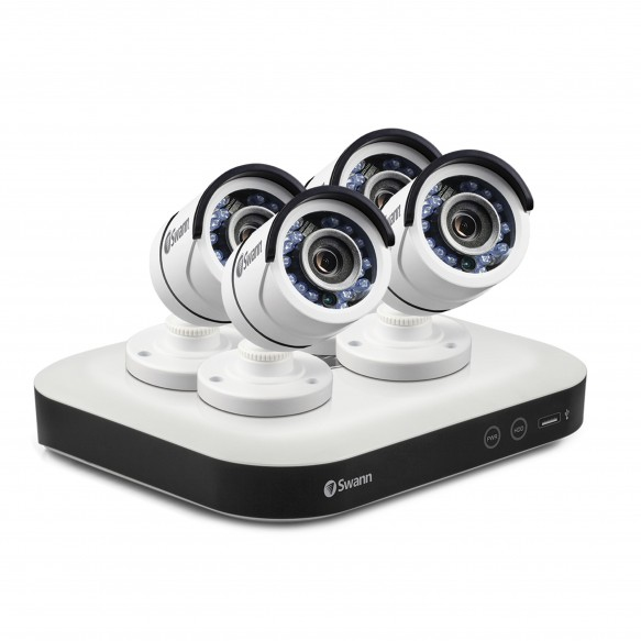 Swann DVR8-5000 - Home Security System with 4 x Security Cameras CCTV KIT