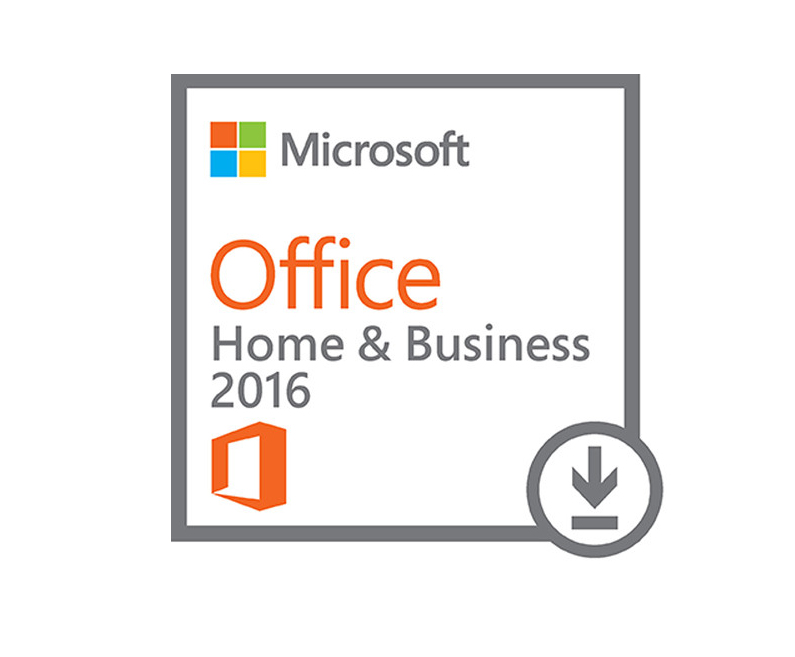 Microsoft Office Home and Business 2016 Win All Languages - Electronic  Software Download - T5D-02316