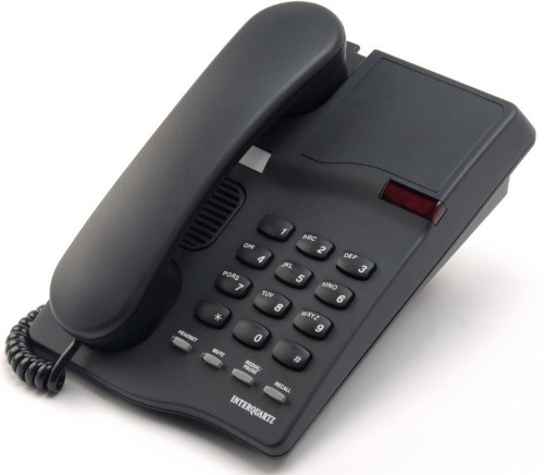 Interquartz 9330B4 telephone Black