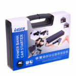 LASER 12000mah Emergency Power with Clippers for Car Battery