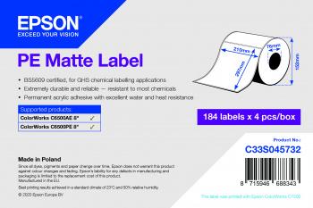 Epson C33S045732 etiqueta de impresora Etiqueta para impresora autoadhesiva