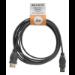 Belkin F3U134R3M 3m USB A USB B Black USB cable