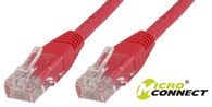Microconnect UTP520R 20m Red networking cable