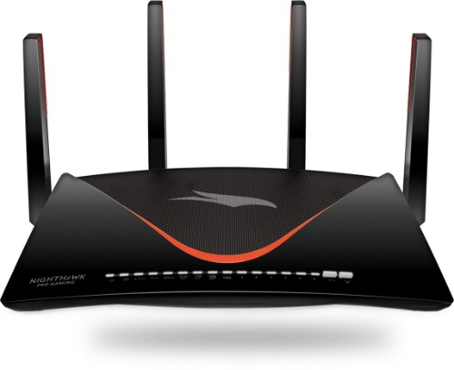 Netgear XR700 wireless router Tri-band (2.4 GHz / 5 GHz / 60 GHz) Gigabit Ethernet Black