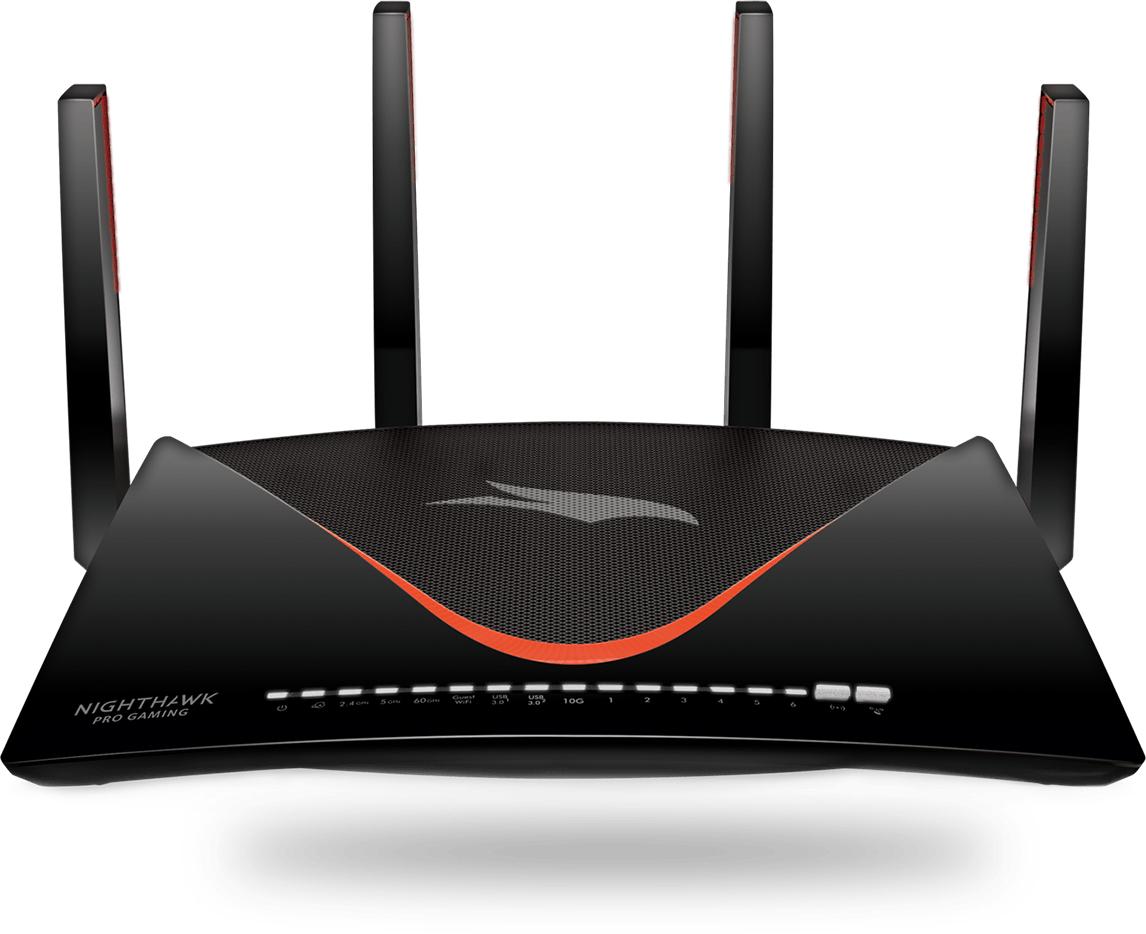 Netgear XR700 draadloze router Tri-band (2.4 GHz / 5 GHz / 60 GHz) Gigabit Ethernet Zwart