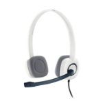 Logitech H150 headset Head-band Binaural White