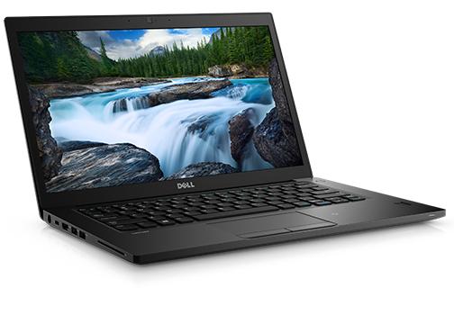 """DELL Latitude 7480 2.60GHz i5-7300U 14"""" 1920 x 1080pixels Black Notebook"""