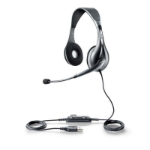 Jabra UC VOICE 150 MS duo USB Binaural Head-band Grey headset