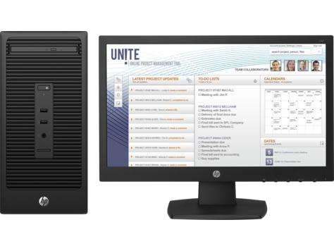 HP 280 G2 MT V7Q80EA#ABU Core i3-6100 4GB 500GB DVDRW Win10 Pro